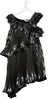 Givenchy Kids ruffle pleated dress