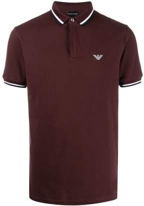 Emporio Armani short-sleeve polo shirt