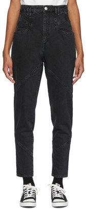 Isabel Marant Black Nadeloisa Jeans