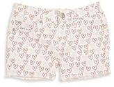 Joe's Jeans Toddler's & Little Girl's Doodle Hearts Shorts