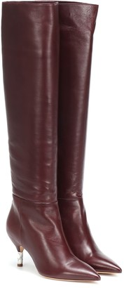 Gabriela Hearst Gonzalez leather knee-high boots