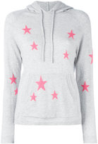 Chinti and Parker star printed hooded sweater - women - Cashmere - XS