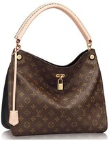 Louis Vuitton Authentic Monogram Gaia Shoulder Handbag Article:M41621 Made in France