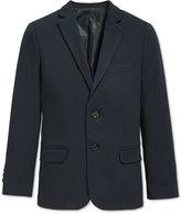 Calvin Klein Boys' Husky Bi-Stretch Suit Jacket