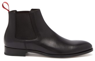 Paul Smith Crown Leather Chelsea Boots - Black