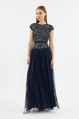 Coast Drop Waist Sequin Dress