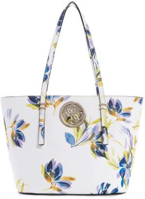 GUESS Mini Open Road Floral Tote