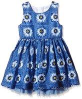 Pumpkin Patch Girl's Daisy Dress Plain Dress,3 (Manufacturer Size:2)