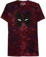 JEM Men's Marvel Deadpool Splatter Graphic-Print T-Shirt