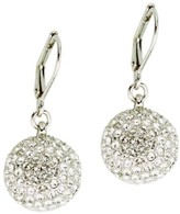 Nina Women's Pave Ball Drop Earrings