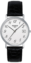 Tissot T52142112 Desire Date Leather Strap Watch, Black/white