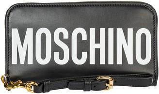 Moschino Maxi Logo Print Wallet