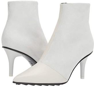 Rag & Bone Beha Moto Boot (White) Women's Shoes