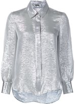 ADAM by Adam Lippes metallic shirt - women - Silk/Polyester - 8