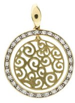 KC Designs 14K Diamond Open Work Pendant