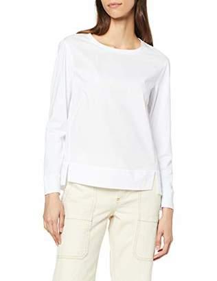 Marc O'Polo Women's 9021457159 Blouse, (White 100), 6 (Size: )