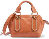 See by Chloe Paige Small Leather Shoulder Bag - Tan