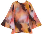 Melissa McCarthy Plus Roundneck Butterfly Sleeve Blouse