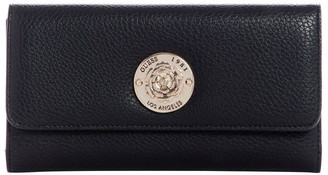 GUESS VG774466BLA Belle Isle Zip Around Wallet