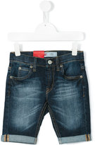 Levi's Kids - faded denim shorts - kids - Cotton/Spandex/Elastane - 4 yrs