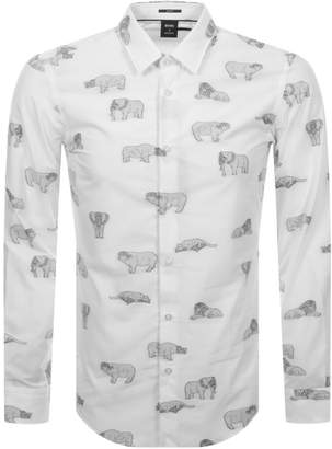 HUGO BOSS Boss Business X Meissen Ronni Shirt White