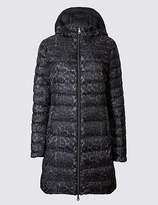 M&S Collection Down & Feather Padded Jacket with StormwearTM