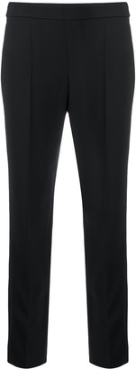 Emporio Armani Pintuck Slim-Fit Trousers