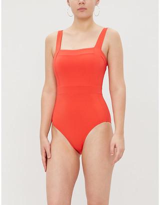 Jets Jetset square neck swimsuit