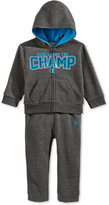 Champion Baby Boys' 2-Pc. Here Comes The Champ Zip-Up Hoodie & Pants Set