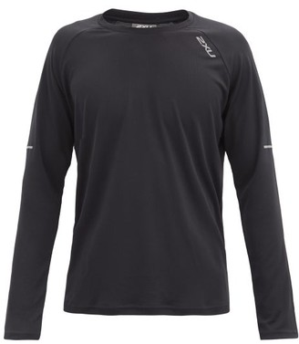2XU Xvent G2 Technical-jersey Long-sleeved T-shirt - Black Silver