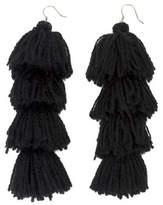 MISA Los Angeles Stacked Tassel Earring