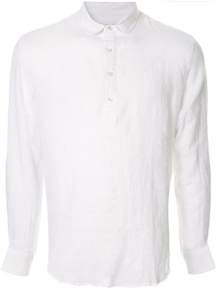 Venroy Pop Over henley shirt