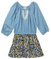 Mimi & Maggie Foliage Dress (Little Girls & Big Girls)