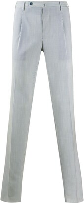 Incotex Striped Slim-Fit Trousers