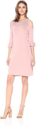 Nic+Zoe Women's Pointelle Pattern Dress
