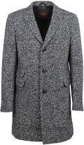 Tod's Grey Herringbone Coat