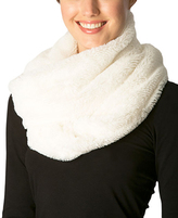Pure Style Girlfriends Ivory Faux Fur Infinity Scarf
