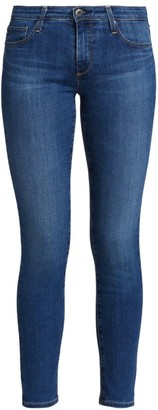 AG Jeans Prima Ankle Mid-Rise Cigarette Jeans