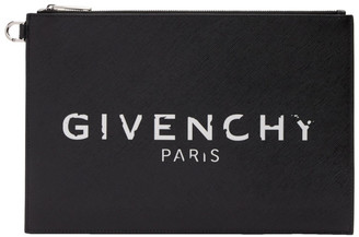 Givenchy Black Paris Iconic Pouch
