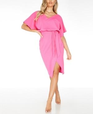 Quiz Tie-Waist Dress