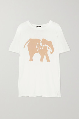 Bassike + Space For Giants + Sofia Salazar Printed Organic Cotton-jersey T-shirt - White