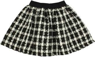 Popatu Check Skirt