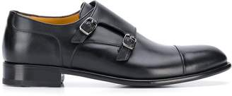 a. testoni side-buckle monk shoes