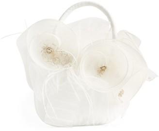 Lesy Tulle Floral Handbag