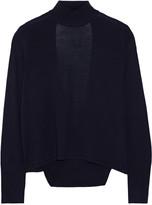 Dion Lee Open-back merino wool turtleneck sweater