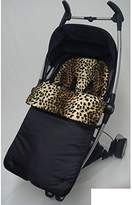 Animal Print Footmuff/Cosy Toes Compatible with Pushchair Lepoard