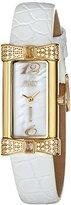 Jivago Women's JV1414 Charmante Analog Display Swiss Quartz White Watch
