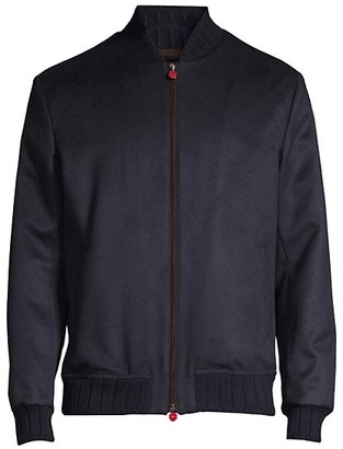 Kiton Reorder Silk Bomber Jacket