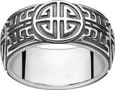 Thomas Sabo Rebel at Heart blackened sterling silver ring