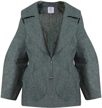 The Linen Curve Jacket